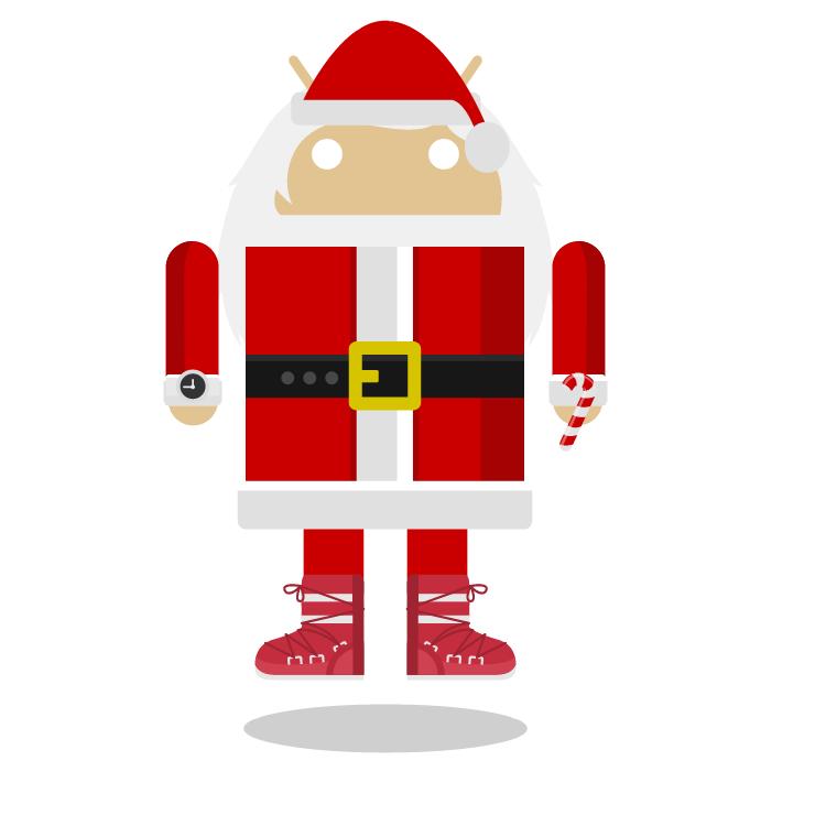 Androidify Santa Droid