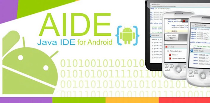 Android Java IDE (mobile Eclipse)