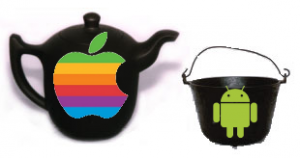 Apple vs Android - Pot & Kettle