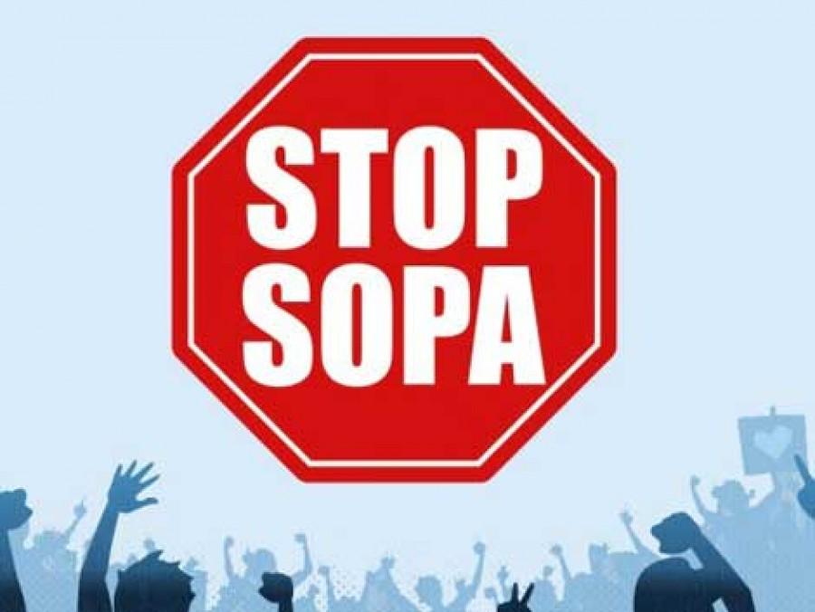 SOPA Stop Sign